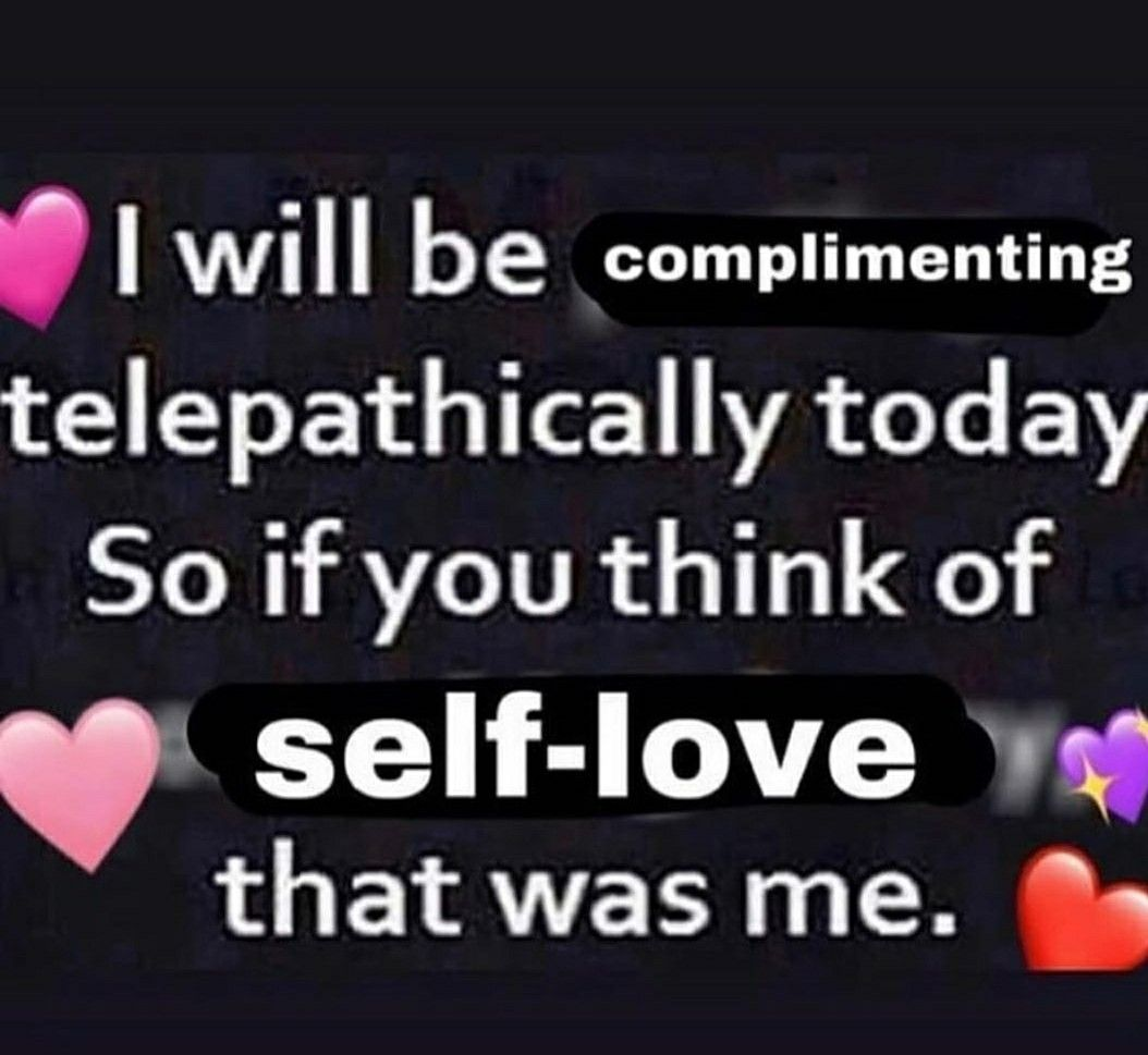 Pin By On Wholesome Memes Love Memes Self Love