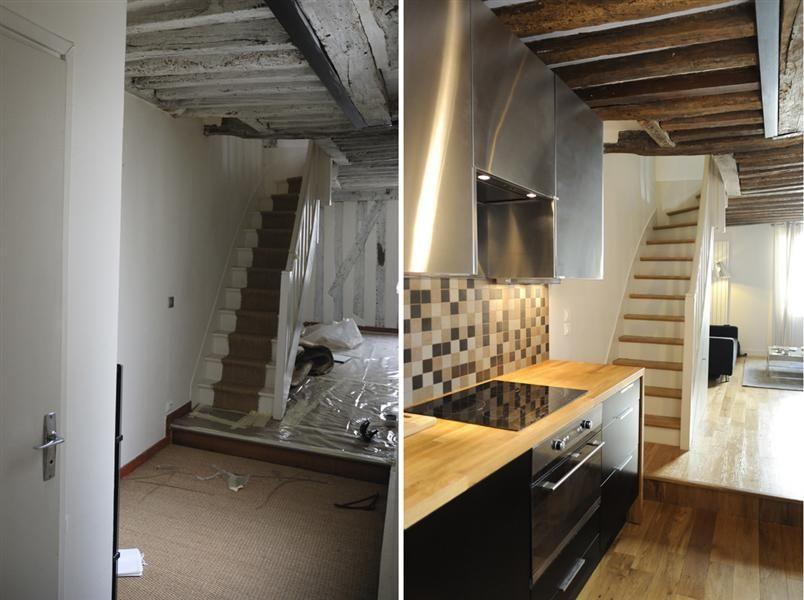 Aménagement du0027une cuisine ouverte dans un duplex architecture