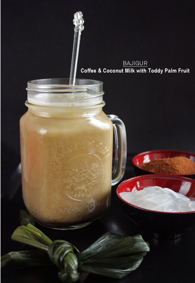Bajigur Coffee And Coconut Milk With Toddy Palm Fruit Recipe Daily Cooking Recipes Drinks Drinkrecipe Delicio Coconut Coffee Coconut Milk Drink Coconut