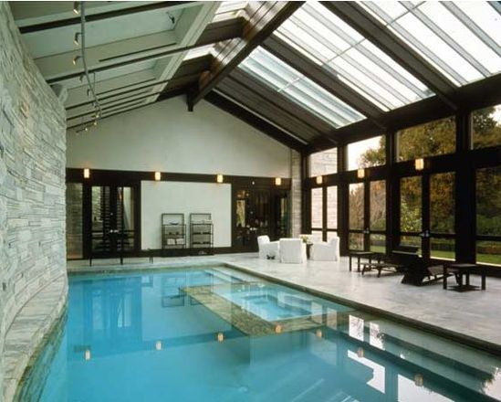 A Look At Some Indoor Swimming Pools From Houzz Com