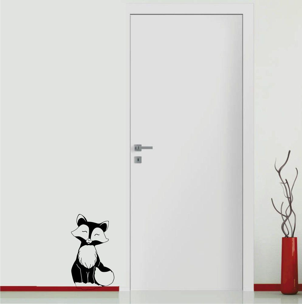 Unique Wandtattoo Fuchs Aufkleber in M bel u Wohnen Dekoration Wandtattoos u Wandbilder
