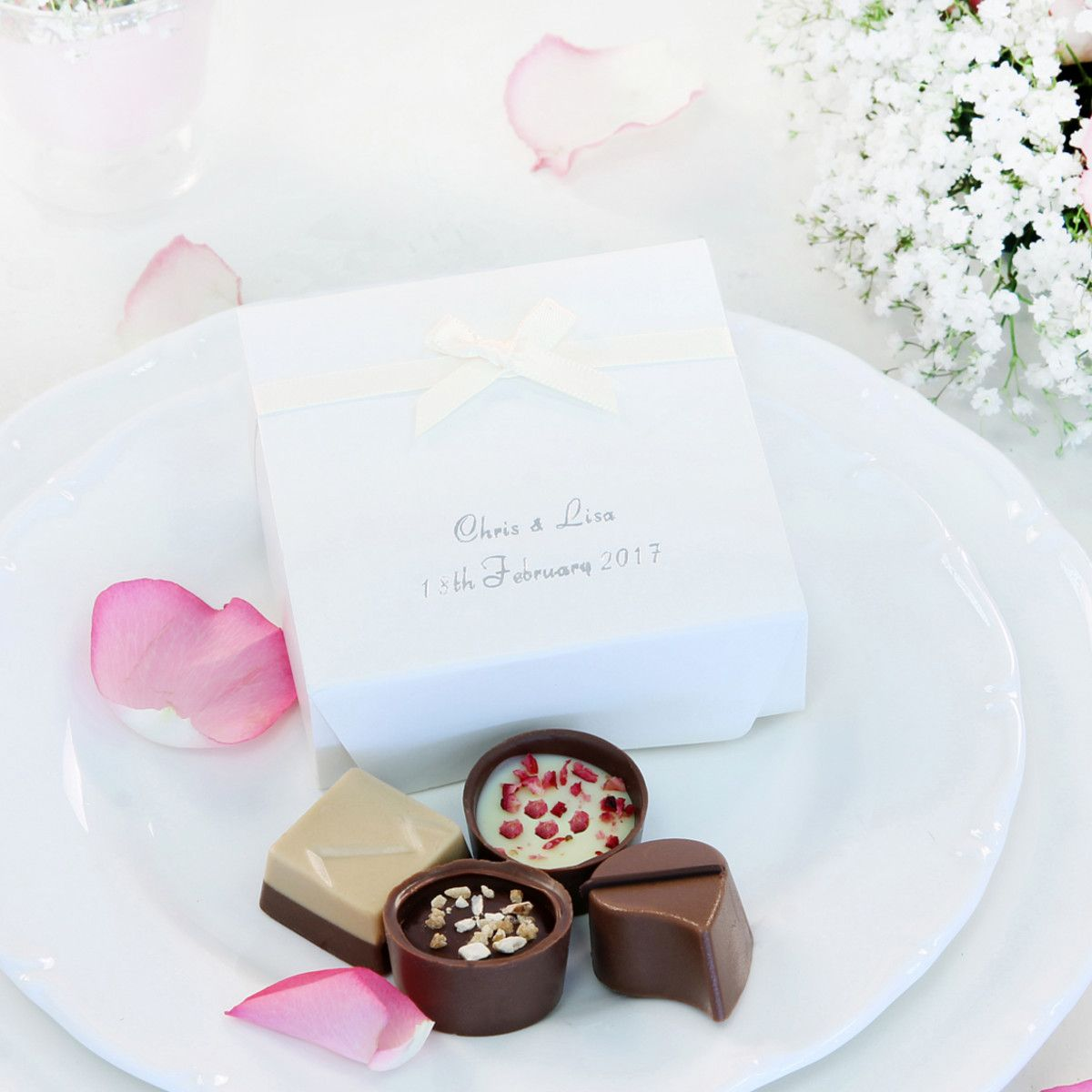 Chocolate Wedding Favours by Lily O\'Brien\'s. Add the perfect ...