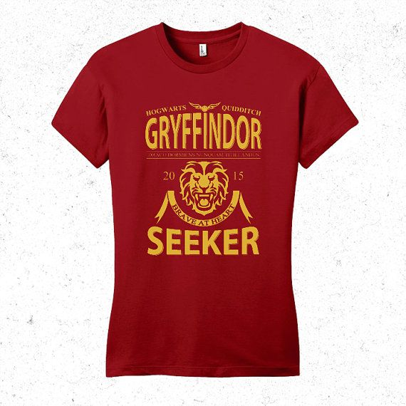 Harry Potter Gryffindor quidditch team Seeker T-shirt