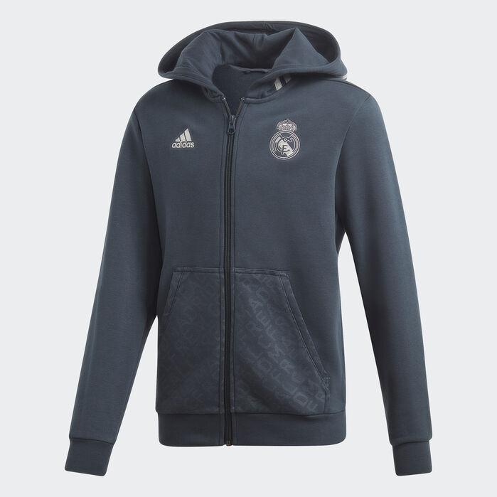 Real Madrid Hoodie | Soccer hoodies, Real madrid, Grey hoodie