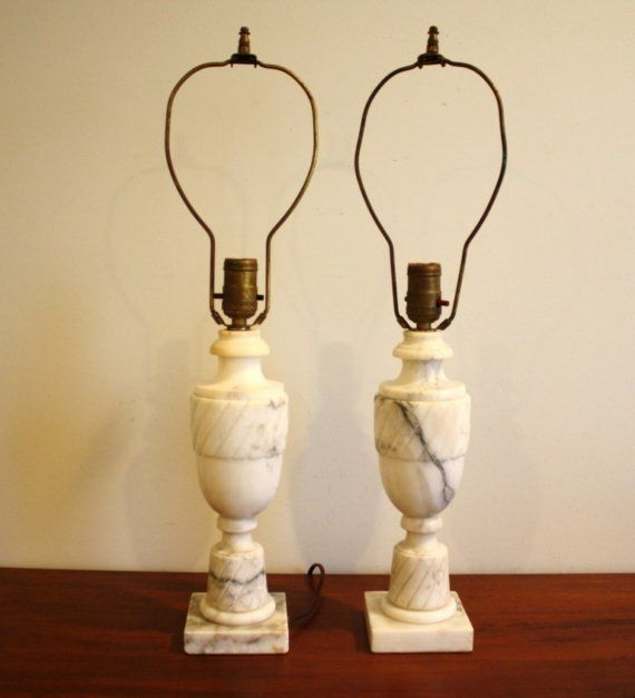 Vintage Marble Lamps With Shades Google Search Marble Lamp Alabaster Lamp Lamp