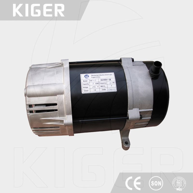 Small Brush 220v 3kw Ac Single Phase Alternator For