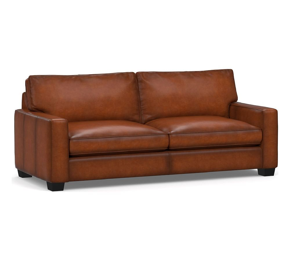 Pleasing Pb Comfort Leather Square Arm Sofa Collection Products Gmtry Best Dining Table And Chair Ideas Images Gmtryco