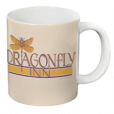 This+oversized+Gilmore+Girls+mug+features+the+Dragonfly+Inn+logo.++The+Dragonfly+Inn+was+the+inn+owned+by+Lorelai+Gilmore+and+Sookie+St.+James+in+the+cult+favorite+television+show.++This+white+ceramic+mug+holds+20+ounces+of+your+favorite+hot+or+cold+beverage+and+is+microwave+and+dishwasher+safe.