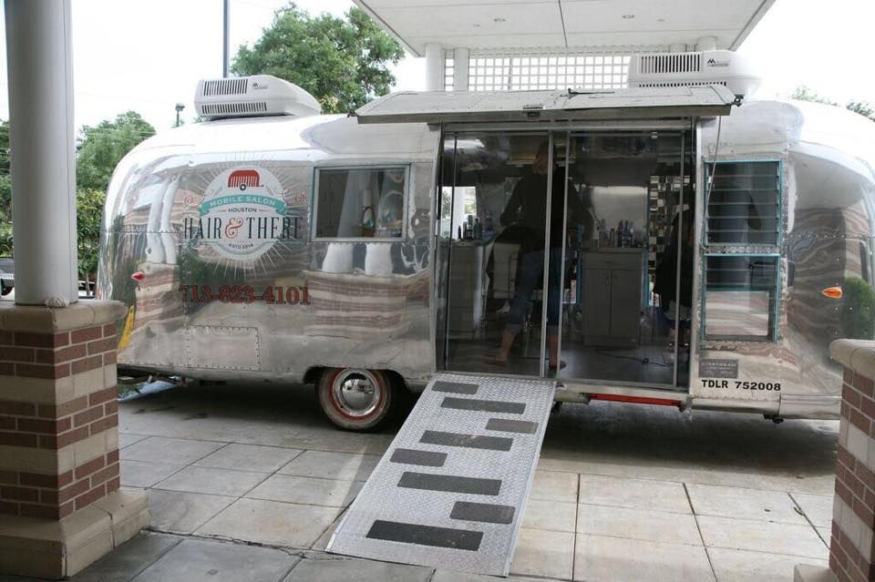 Home Spa Design Ideas: Mobile Salon For On Site Services. Tricked Out Airstream