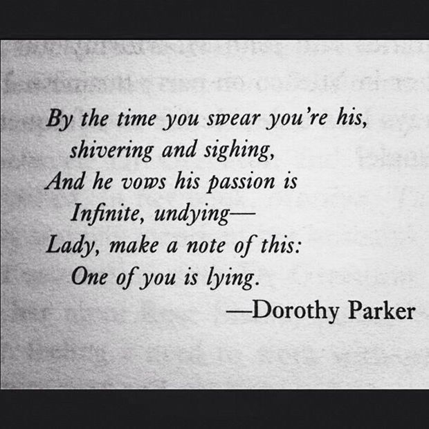 19 Quotes From All-American (\ TOTALLY Sassy) Author, Dorothy - dorothy parker resume