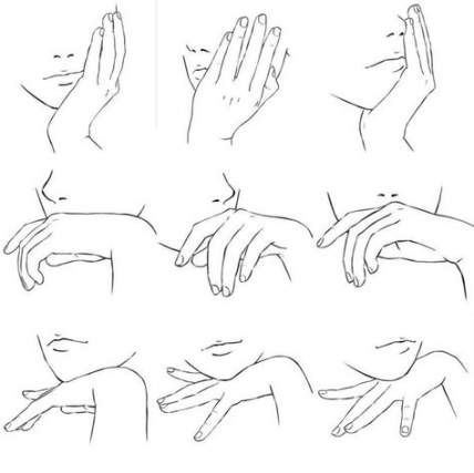 36 Hands By Watermelonowl On Deviantart Anime Hands Drawing Anime Hands Hand Drawing Reference