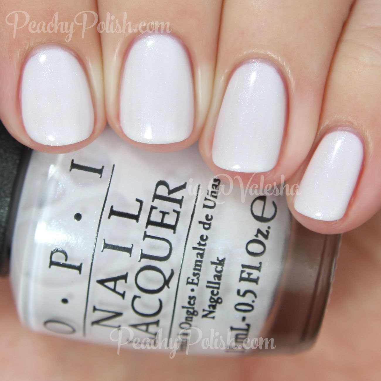 """3 opi 2015 soft shades collection - """"chiffon my mind"""" has silver"""