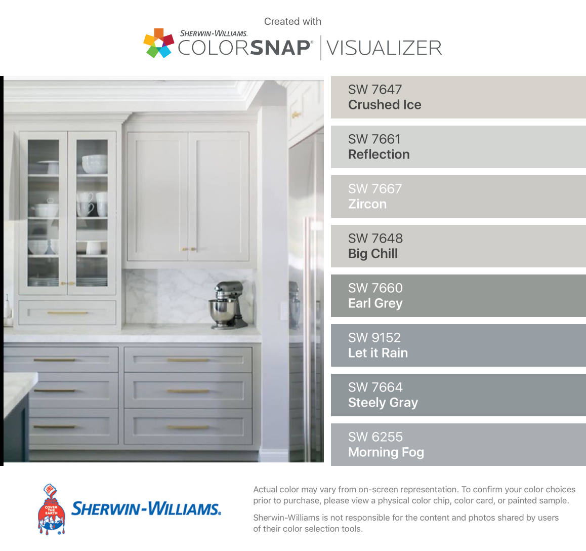 I Found These Colors With Colorsnap Visualizer For Iphone By Sherwin William Sherwin Williams Colors Sherwin Williams Steely Gray Morning Fog Sherwin Williams