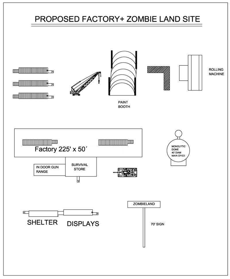 Custom Floor Plans, Survival Shelter, Large