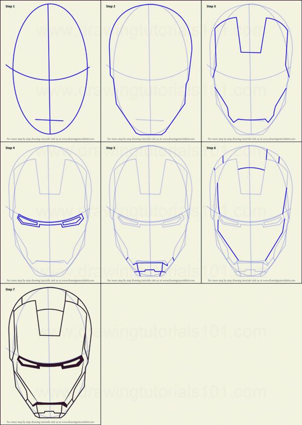 Como Dibujar Iron Man 10 Ejemplos Paso A Paso Drawinghair Dibujar Drawinghair Ejemplos Iron Man Drawing Iron Man Drawing Easy Iron Man Art