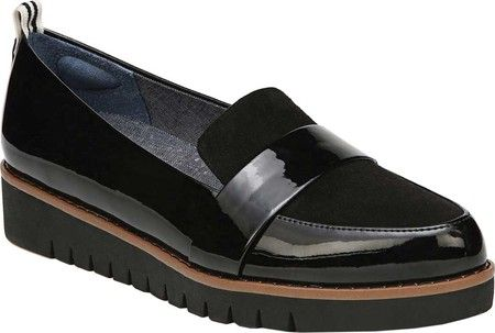 ab49ee9df32 Women s Dr. Scholl s Imagined Loafer - Black Patent Polyurethane with FREE  Shipping   Exchanges. Stylish and on trend