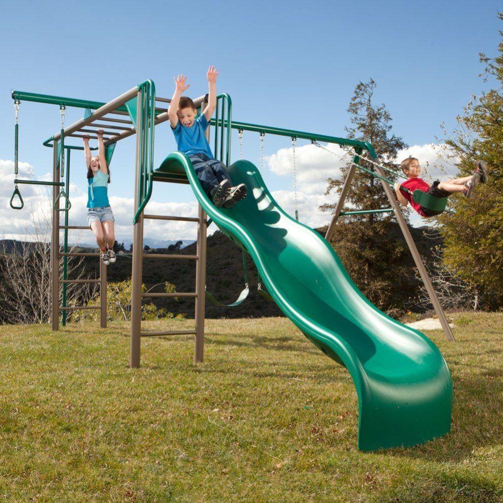 lifetime monkey adventure playset backyard playground