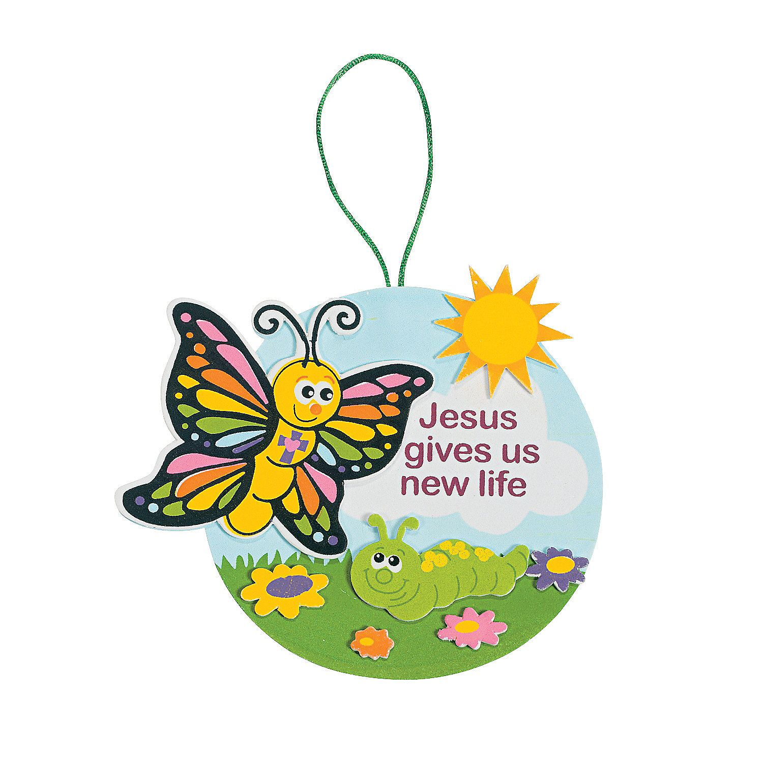 Jesus Gives Us New Life Sign Craft Kit