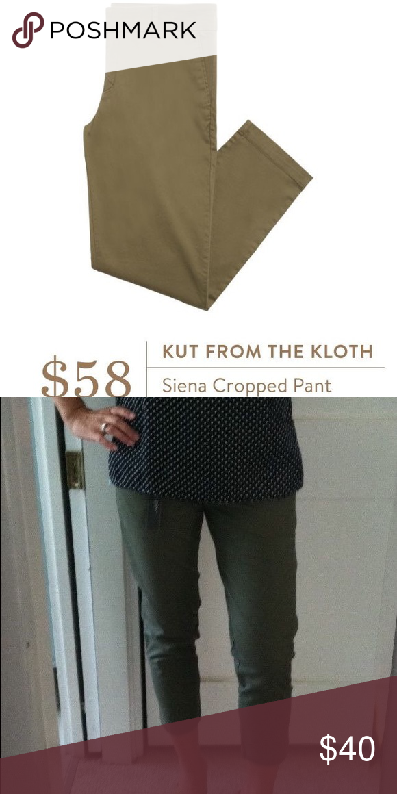 STITCH FIX Kut from the Kloth Siena Capri Pant Nwt. Puppy-loving smoke-free home. Sorry-no trades. All offers will be considered but please be respectful of the brand and the condition :) 20% discount if you bundle two or more items!   Happy Shopping!  Kut from the Kloth Pants Capris