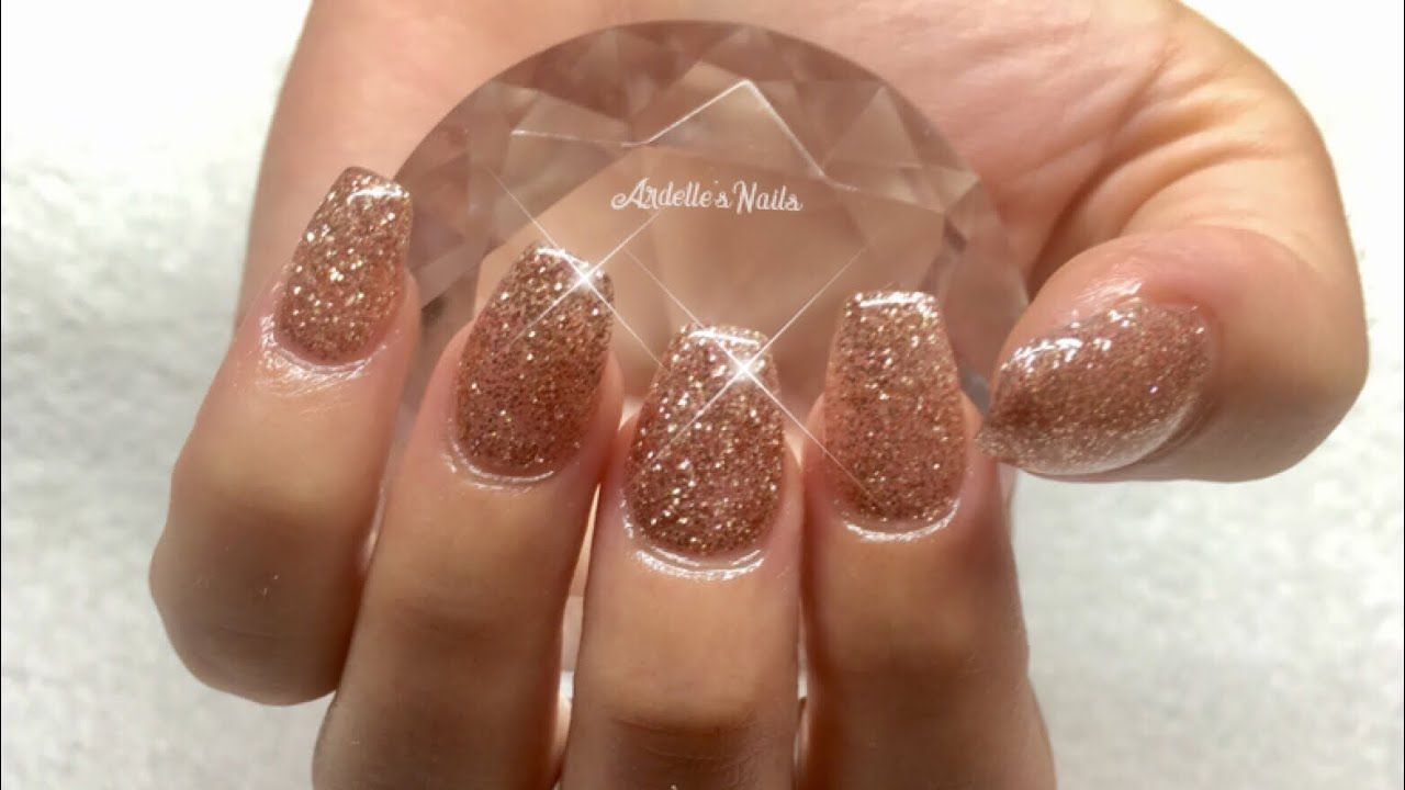 How to New Set of Gel Nails Done With Tips Gel nails