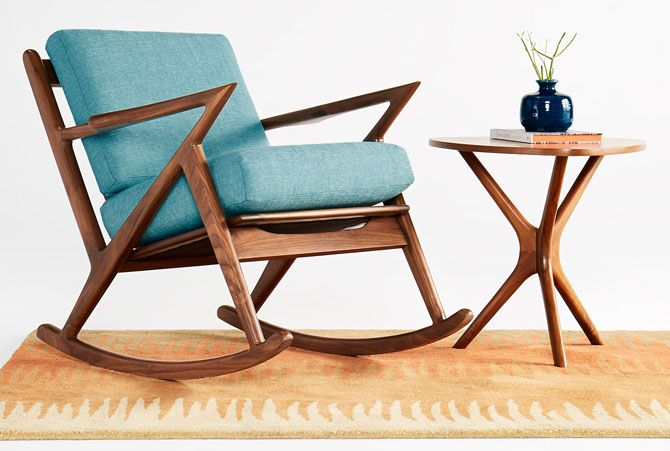 three of the best midcentury modern rocking chairs midcentury