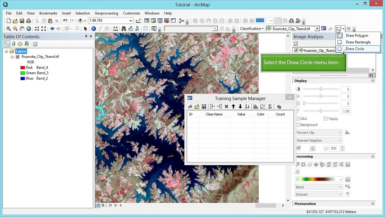 Remote Sensing in ArcGIS Tutorial : Supervised
