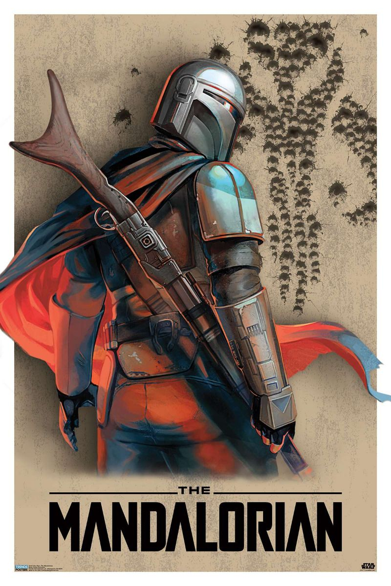 "Movie Collector/'s Poster Print DISNEY STAR WARS The Mandalorian 11""x 17"""