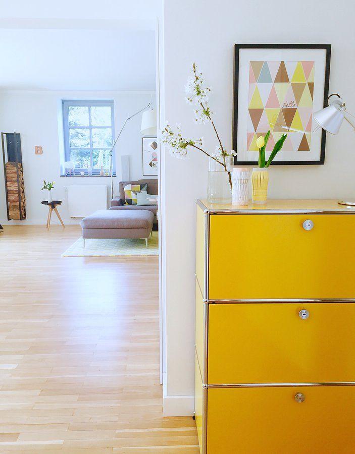 beautiful einfache dekoration und mobel designklassiker usm haller 2 #1: SONNENGELB! Usm HallerEames ...