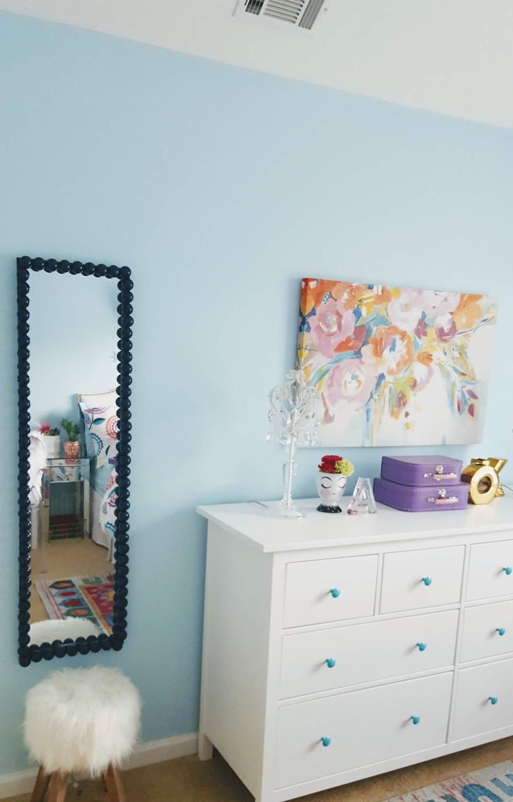 tween girl's bedroom reveal! orc: week 6 | tween girl bedroom, girls bedroom, pottery barn duvet