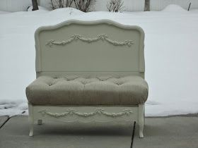 French Garden Treasures: French Garden Treasures Small Settee/Bench $750