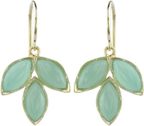 e7056e38a5116 Irene Neuwirth Women's Gemstone Triple Marquise Earrings-Colorless ...