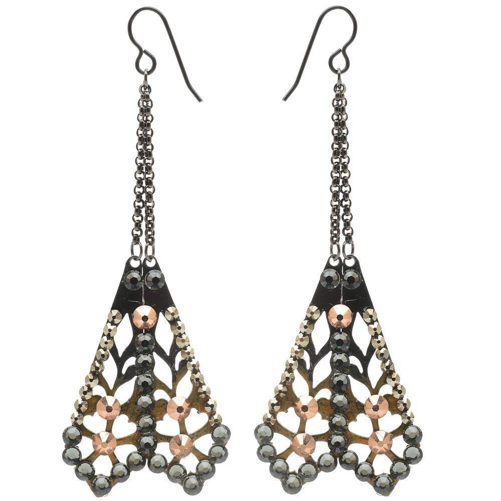 Tutorial - How to: Jeweled Cicada Earrings Deco Jewelry | Beadaholique