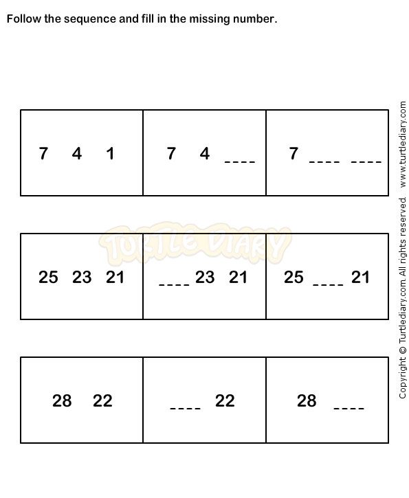 Number Sequence Worksheet 8 Math Worksheets Grade 1 Worksheets Math Worksheets 1st Grade Math Worksheets Number Worksheets