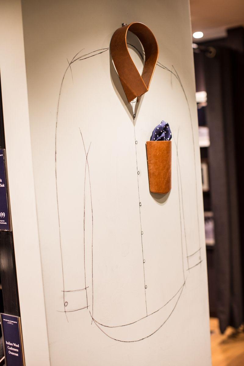 Charles Tyrwhitt Tooley Street Visual Merchandising #vm #visualmerchandising
