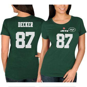 e0570b82b Eric Decker New York Jets Women s Green Fair Catch T-Shirt  jets  nyjets   nfl