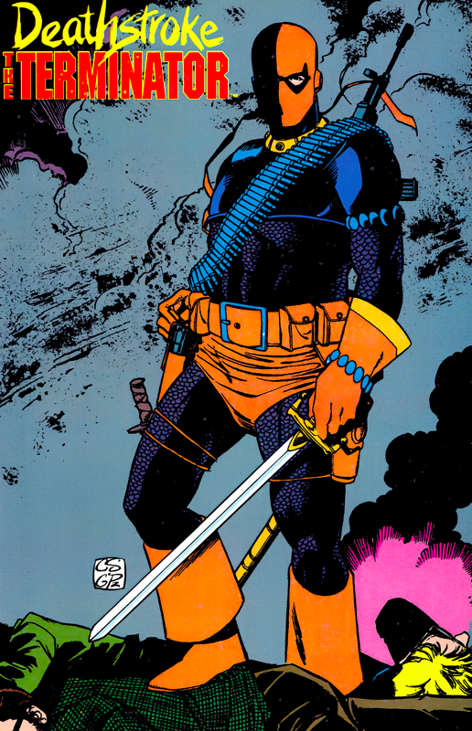 Deathstroke by Chris Sprouse & George Perez | Dc comics, Cómics ...