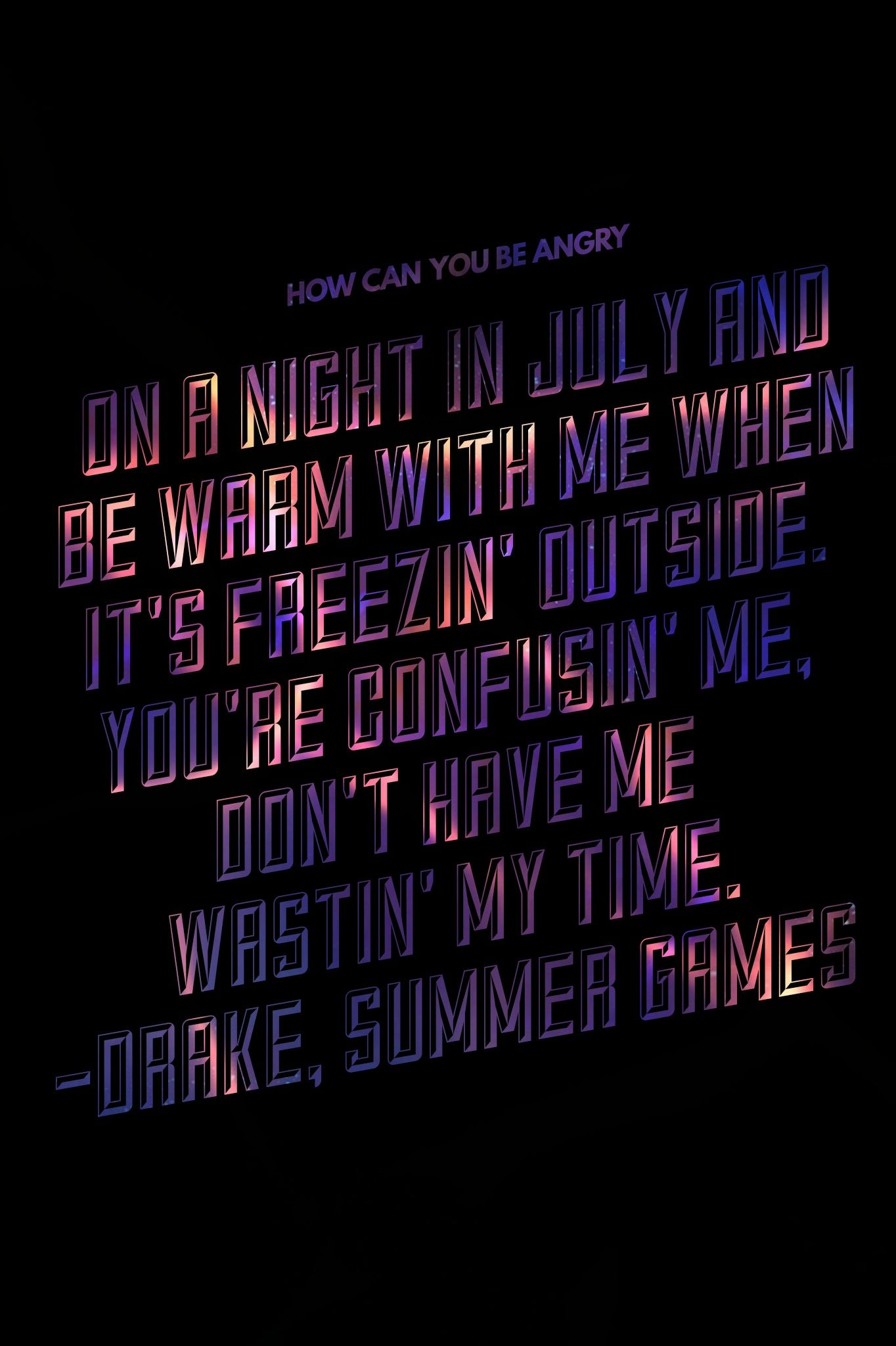 playing games lyrics summer