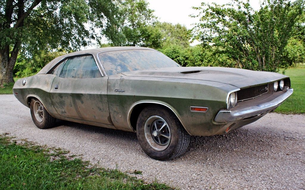 1970 Challenger R/T | Barn finds | Pinterest | Barn finds, Cars and ...