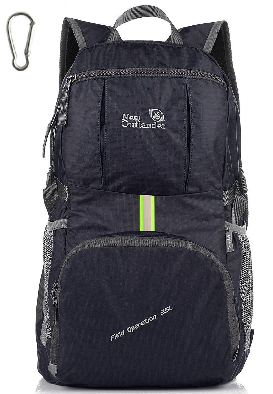 2021eba7b81e Amazon.com: Outlander Packable Lightweight Travel Hiking Backpack ...