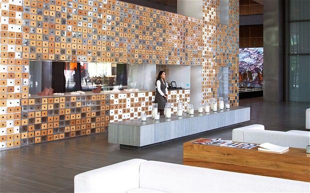 The foyer gallery of the opposite house beijing s best for Hotel foyer decor