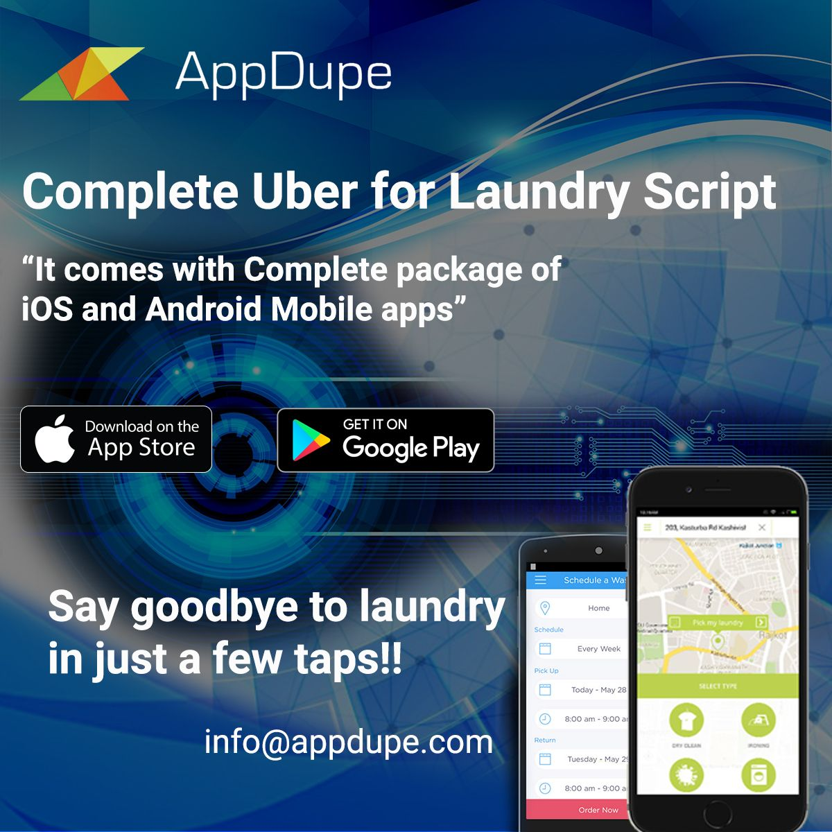 Pin by Robert Hancock on appdupe reviews | Laundry app