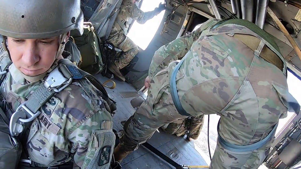 Us Army 5th Ranger Training Battalion Airborne Jump Us Army Battalion Military Videos