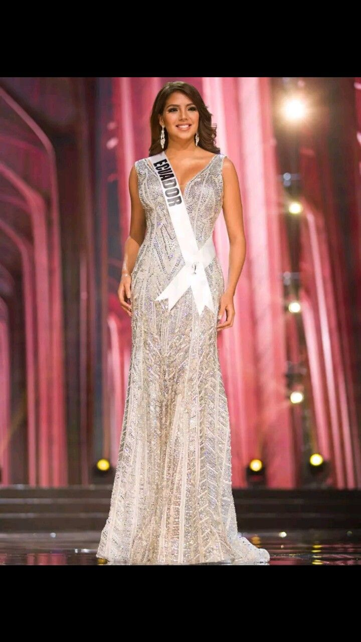 Miss Ecuador 2016 Evening Gown | Miss Universe 2016 | Pinterest