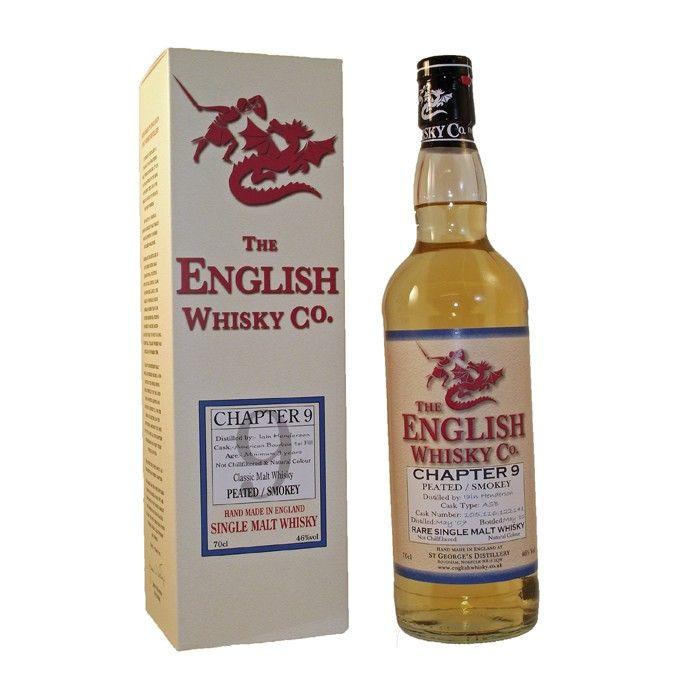 English Whisky Co. Chapter 9 peated/smokey rare single malt England