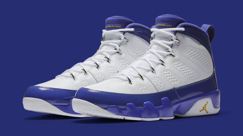 nike air jordan 9 ix retro lakers kobe bryant pe size 12 5 302370 121