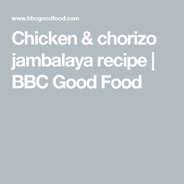 Chicken chorizo jambalaya recipe bbc good food food chicken chorizo jambalaya recipe bbc good food forumfinder Choice Image