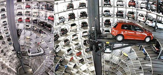 Vw S Automated Parking Garage Storage Facilities Fiction Movies