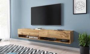 Credenza Moderna Groupon : Groupon mobile porta tv da parete disponibile in lunghezze e