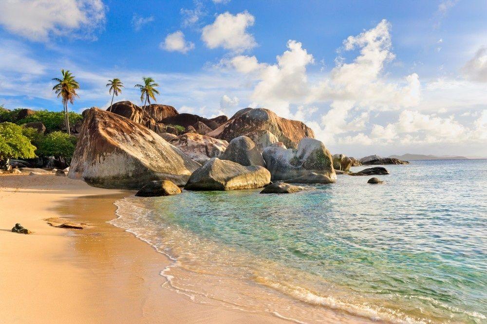 Beaches in British Virgin Islands, Coasts and bays in BVI