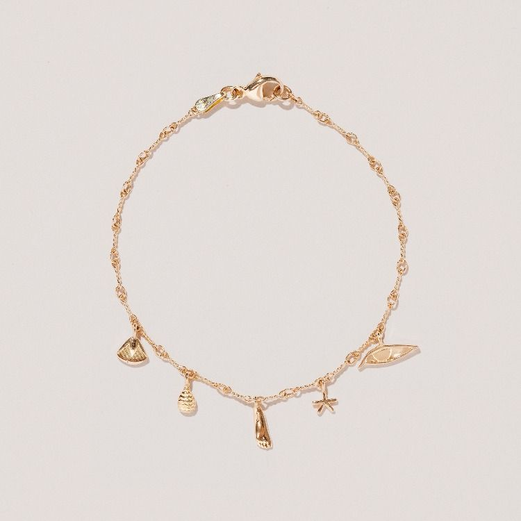 Add European Charms /& Pendants NEW Rose Gold Snake Chain Bracelet Solid Clasp